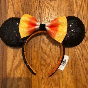 New Minnie candy corn ears
